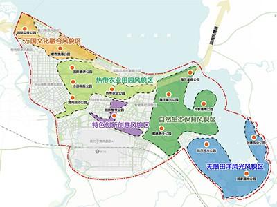 298平方公里,475个自然村,海口江东新区城乡融合&乡村振兴规划来了!